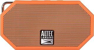 Altec Lansing IMW257-BLK 迷你 H2O 防水蓝牙扬声器IMW257-ORG IMW257-ORG 2.00 x 4.50 x 5.00 inches