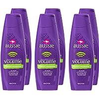 Aussie 袋鼠Aussome Volume 丰盈蓬松洗发水,13.5 液体盎司(6 瓶装)