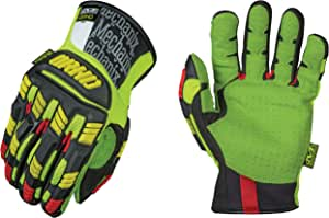 Mechanix Wear NEW 2014-ORHD Gloves, High Visibility Yellow/Black High Visibility Green/Yellow XX-L