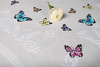 VERVACO (3PL) 印章刺绣套件,蝴蝶舞,均码