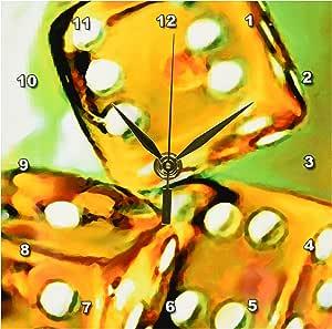 游戏 - 骰子 - 桌钟 6x6 Desk Clock dc_850_1