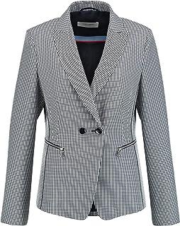 Gerry Weber 女士西装外套 带Vichy-方格图案
