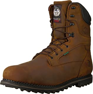 Georgia Boot 北极鞋头防水保暖工作靴