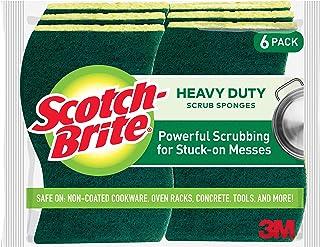 3M Scotch-Brite 思高 重型磨砂海绵,6块