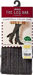 ATSUGI 紧身裤袜 THE LEG BAR[日本制]纤度400旦左右 混纺无花纹 含羊毛 女士