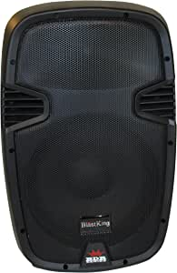 Blast King BDR I77BDR8 Series 8 Ohm Passive 500 Watt Speaker Box, 8-Inches
