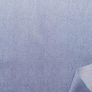 双日时尚 纯棉印花面料 牛仔裤风格 宽110cm C 蓝色 DH13197S-C 7M 蓝色