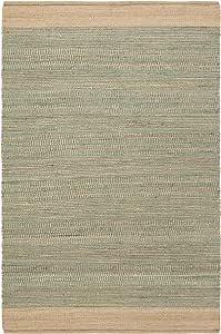 Surya Davidson 地毯,5.08 厘米 x 7.62 厘米,青色