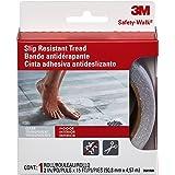3M 防滑浴缸垫淋浴垫,透明,2 英寸 x 180 英寸