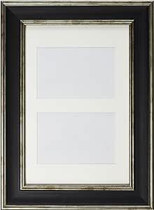 Inov8 英国制作图片/相框,大洗 水洗黑 12x8 Dual Aperture PFE-LWBK-DA1