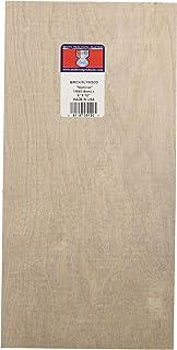 Midwest Products 5120 桦木胶合板,1/64 x 6 x 12 英寸