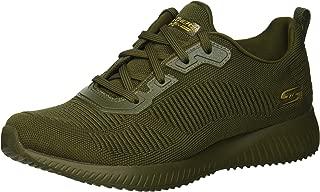 Skechers 女士 Bobs Squad-Tough Talk 健身鞋