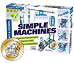 Thames & Kosmos Simple Machines Science Experiment & Model Building Kit, Introduction to Mechanical Physics, Build 26...