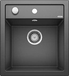 Blanco 鉑浪高 廚房水槽 DALAGO 亮黑色 45 cm Unterschrank