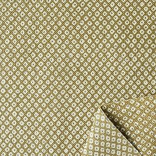 """双日时尚 日式风格印花 """"鹿子"""" 斑驳线布 宽108cm B88225Z-1-2 2M 抹茶绿"""