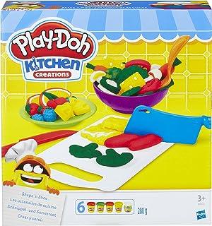 Play-Doh B9012EU40 厨房创造形状切片玩具套装 3 years to 18 years 厨房