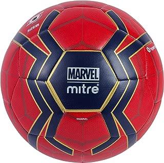 Mitre Kids' Spiderman Match Football, Red/Blue, 5