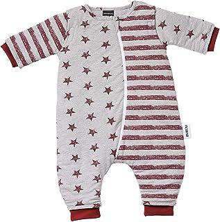 Gesslein 753191 Bubou Walker Design 191:温度调节的全年睡袋 / 婴儿睡袋 / 儿童带腿的婴儿/儿童睡袋 尺码 110 灰色