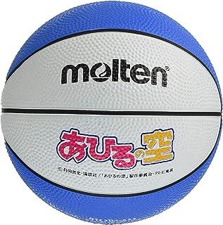 molten (莫尔登)篮球 鸭子空×马尔登 *迷你球 白色×蓝茂吉要 B1C200-AS5