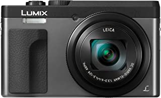 Panasonic 松下電器 LUMIX DC-ZS70S 2.03萬像素 4K數碼相機 可觸摸的3英寸180度前翻轉顯示屏 30X徠卡DC VARIO-ELMAR鏡頭 WiFi 銀色
