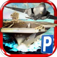 3D Airplane Parking Simulator Game - Real Aircraft Carrier Driving Test Sim