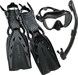 Mares Mares XStream Pro 潜水面罩 Fin 潜水管套装