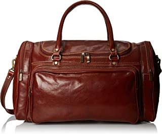 Floto Luggage Torino Duffle Travel Bag Vecchio brown 均码