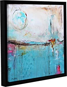"""ArtWall Jolina Anthony's Tall Drink of Water Gallery Wrapped Floater-Framed Canvas, 18""""x 18"""""""