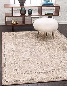 Unique Loom 3143454 Penrose 系列复古复古小地毯