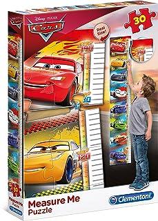 Clementoni 20324 - Measure Me 拼图 - 汽车总动员 3-30 片 - 迪士尼,多色