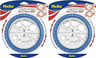 Helix 360° 角度和圆圈机,各种颜色 (36002) 2组
