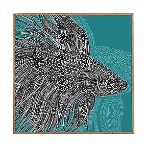 DENY Designs 13494-frwamd Valentina Ramos Beta Fish Framed Wall Art