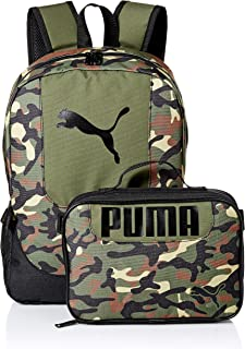PUMA Big Kid's Lunch Box Backpack Combo
