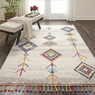 地毯直接地毯,聚丙烯烃,多色,119 厘米 x 183 厘米
