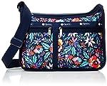 Lesportsac 女式 Classic系列时尚斜挎手提包 7507E187 蓝色/黄色/绿色/红色 25 * 36 * 13cm