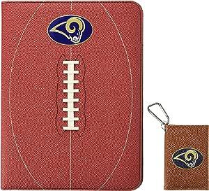 GameWear NFL St. Louis Rams 经典足球组合和身份证夹礼品包,均码,棕色
