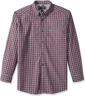 ariat 男式经典修身长袖纽扣 shirt-pro 系列 Malbec XX-Large