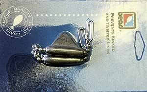 Bead Chain DR114K Keel Sinker, 1 1/4-Ounce, Dark Nickle