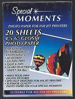 Special Moments 喷墨打印机照片纸