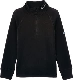 ODLO 保暖儿童长袖衬衫,高领半拉链背心,大臂及膝