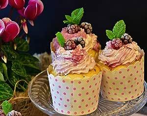 "ArtDash Studio 帆布相框-it-youself 厨房艺术:彩色糕点 Berry Cupcakes 8""×10"""
