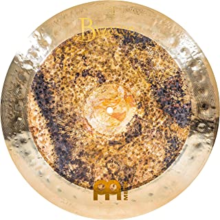 Meinl Cymbals Byzance 45.72cm 双中国 - 土耳其制造 - 手工锤打 B20 青铜,2 年保修(18DUCH)