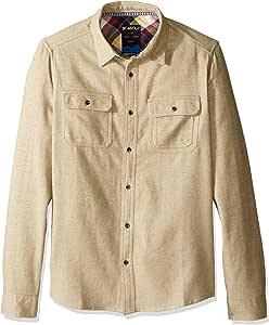 KAVU 男士 Franklin 系扣衬衫