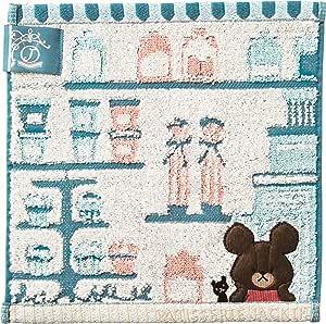 丸真 毛巾 小熊学校 衬垫 棉 * くまのがっこう 25×25cm 4335000900
