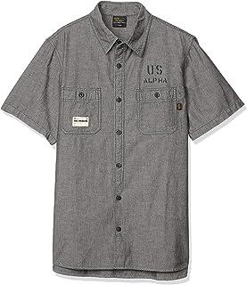 ALPHA INDUSTRIES INC 襯衫 【官方】 短袖 青年布襯衫 TS5093