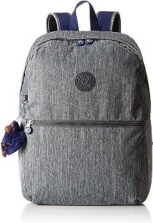 Kipling 凯浦林 Emery 书包 42 厘米 Grey (Ash Denim Bl) Grey (Ash Denim Bl)