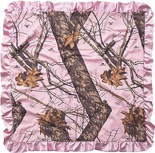 Carstens Mossy Oak Break Up 婴儿毯,粉色
