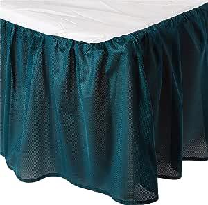 Sports Coverage Nfl 费城老鹰床裙,全套,老鹰 蓝绿色 Queen 30JRBSKTEALQUEN