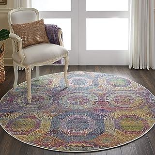 地毯直销地毯,90% 聚丙烯,10% 涤纶,多色,122 厘米 x 122 厘米