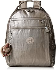 Kipling 凯浦林 Micah 中号笔记本电脑,可调节,加垫背包带,拉链开合